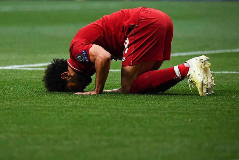 Samuel Eto'o vill sjá Mohamed Salah yfirgefa Liverpool og semja ...