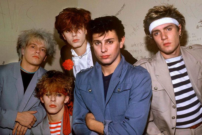 Duran Duran á árum áður.