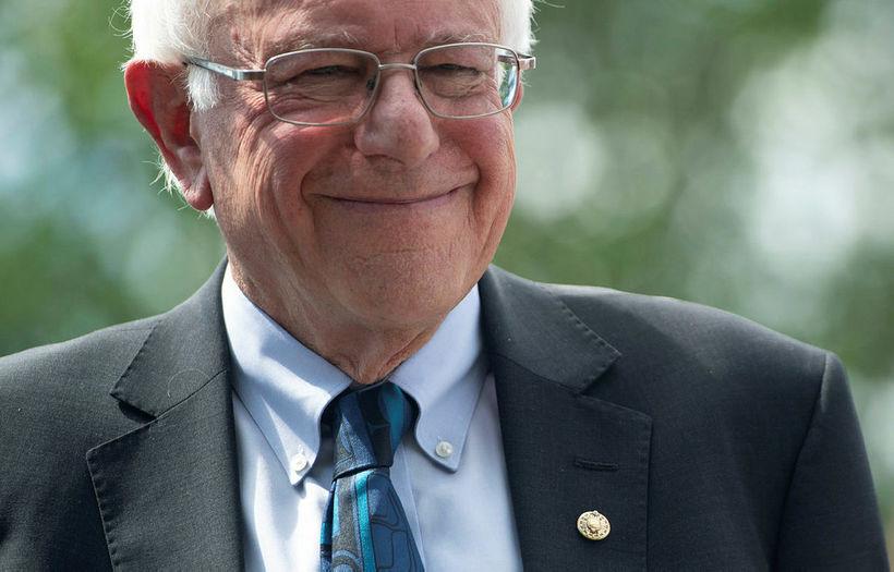 Bernie Sanders, öldungadeildarþingmaður og þátttakandi í forvali demókrata, er gyðingur …