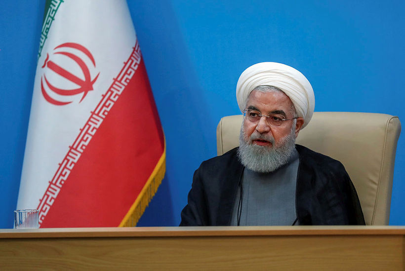 Hassan Rouhan, forseti Írans.