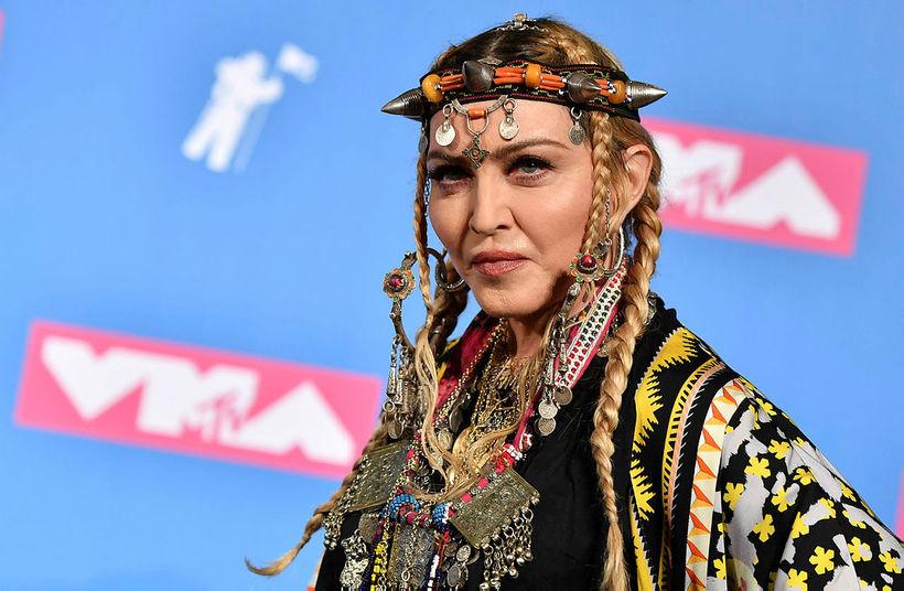Heilsa Madonnu hefur verið betri.