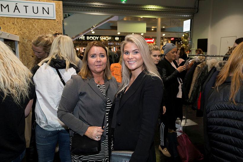 Sigrún Linda Arnardóttir og Haddý Garðarsdóttir.