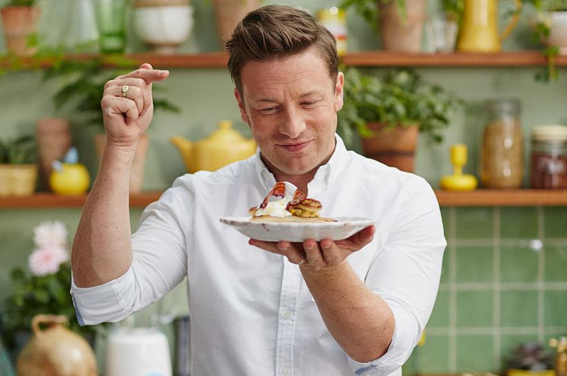 """""""Nakti kokkurinn"""" eins og Jamie Oliver var lengi kallaður."""