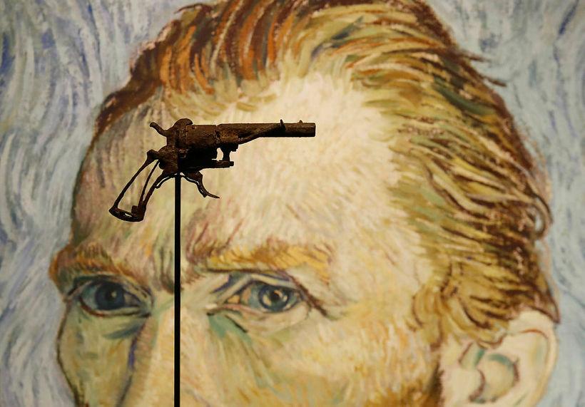 Byssa sem talið er að Van Gogh hafi notað til ...