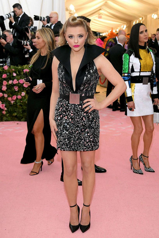 Chloe Grace Moretz er meðal annars hrifin af grænum, bláum, …
