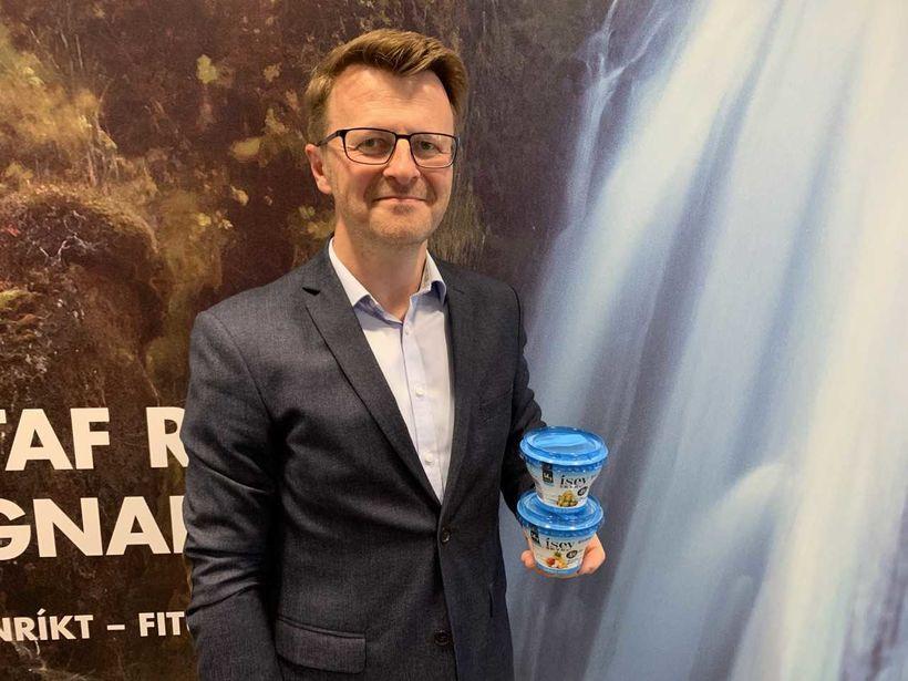 Björn S. Gunnarsson, vöruþróunarstjóri Mjólkursamsölunnar.