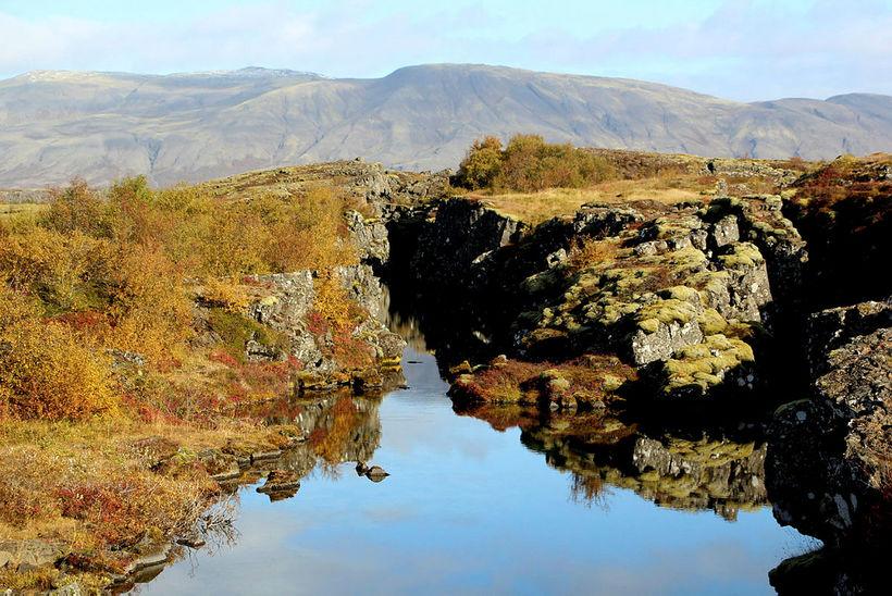 Þingvellir eru á heimsminjaskrá vegna sögulegra verðmæta sem þar leynast. ...
