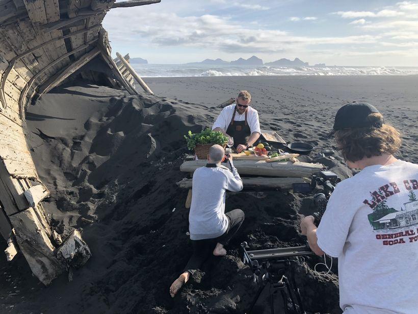 Þættirnir eru teknir upp í mögnuðu umhverfi.