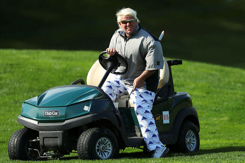 John Daly á PGA-meistaramótinu í maí.
