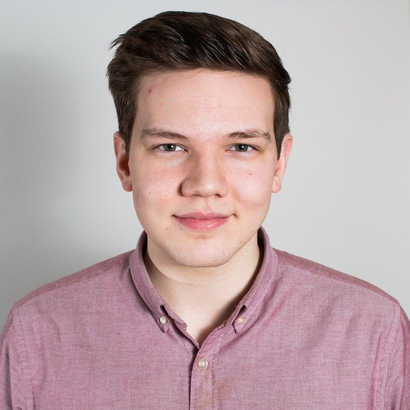 Marinó Örn Ólafsson, fulltrúi stúdenta í stjórn LÍN.