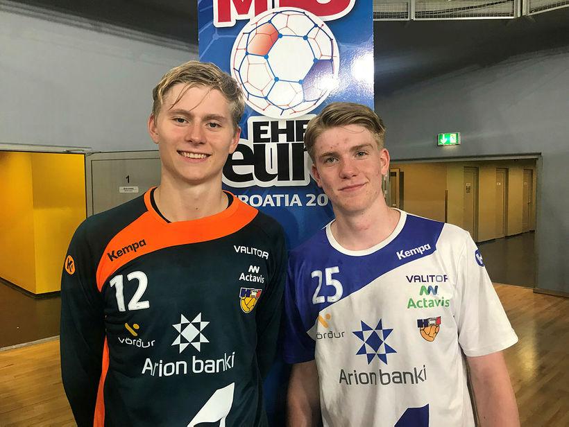 Viktor Gísli Hallgrímsson er í U21 árs landsliðshópnum en Haukur ...