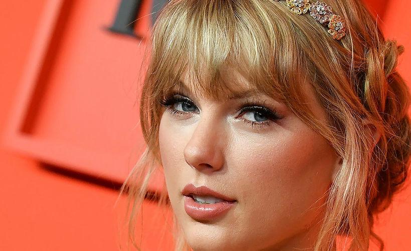 Taylor Swift var í miklu stuði.
