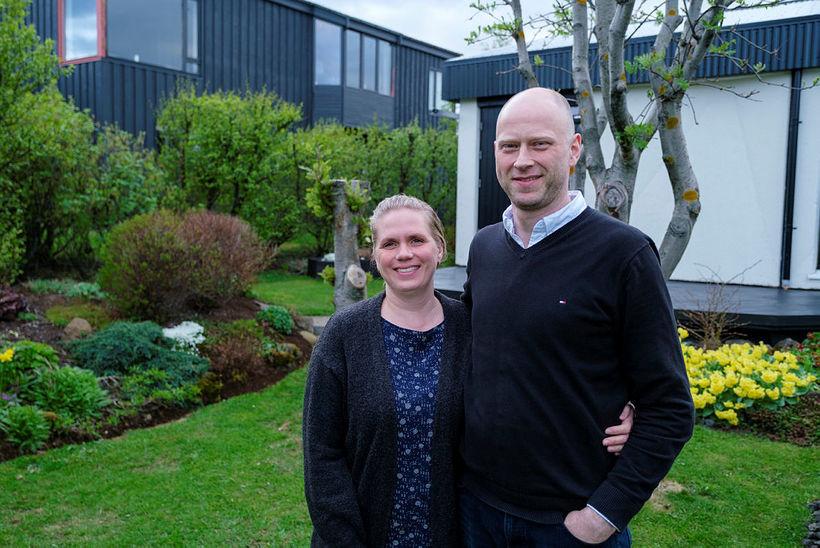 Elísabet Gerður Þorkelsdóttir og Hallvarð Einar Logason.