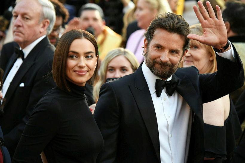 Bradley Cooper og Irina Shayk eru í góðu sambandi.