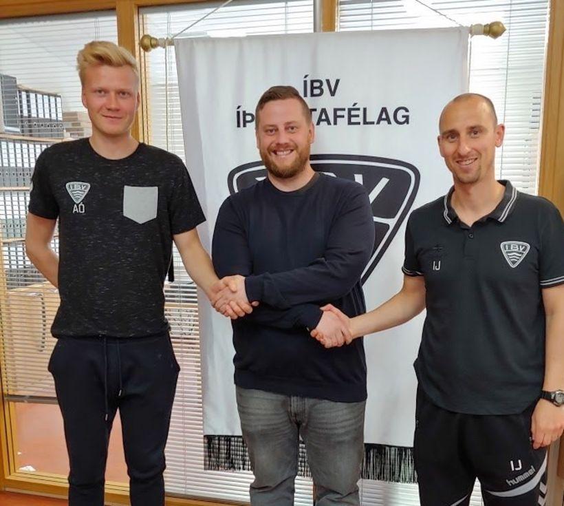 Andri Ólafsson og Ian Jeffs munu stýra liði ÍBV út ...