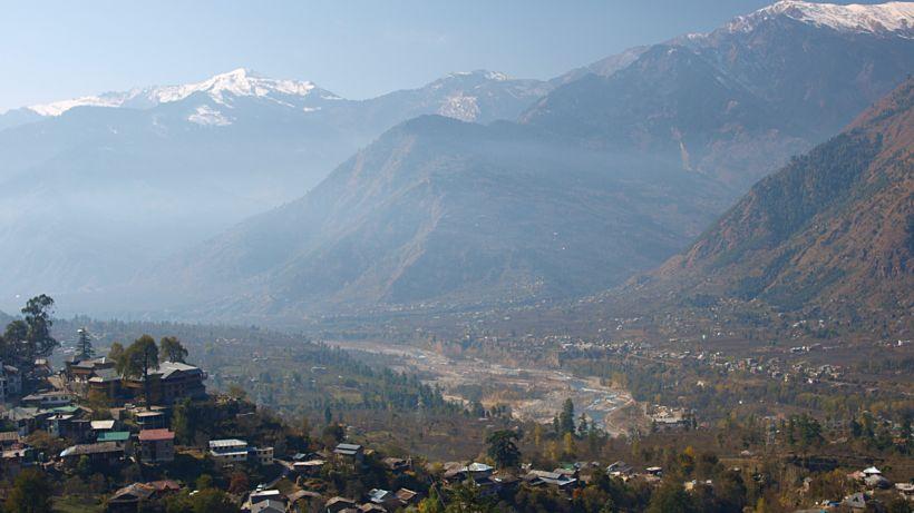 Bærinn Manali er í Himachal Pradesh-ríki í norðurhluta Indlands.