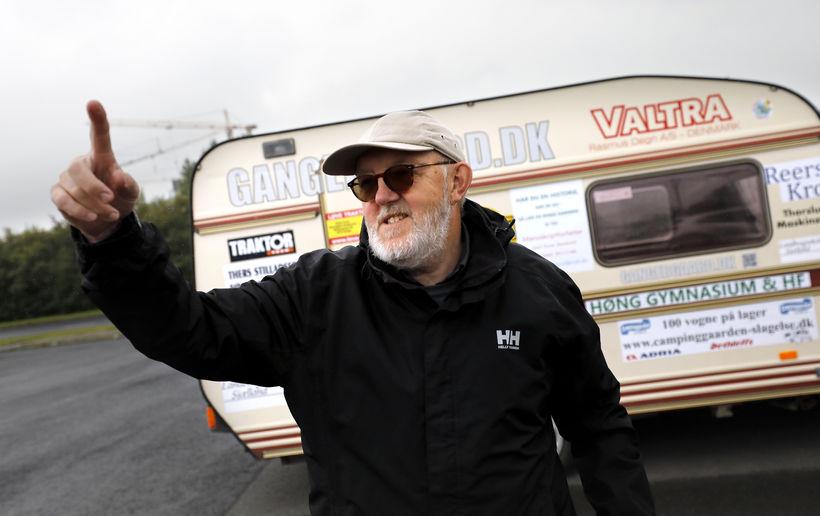 Kurt hefur ferðast um Ísland í þrjár vikur og áætlar …