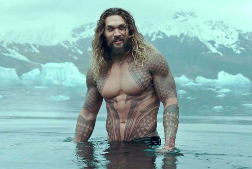 Jason Momoa sem Aquaman