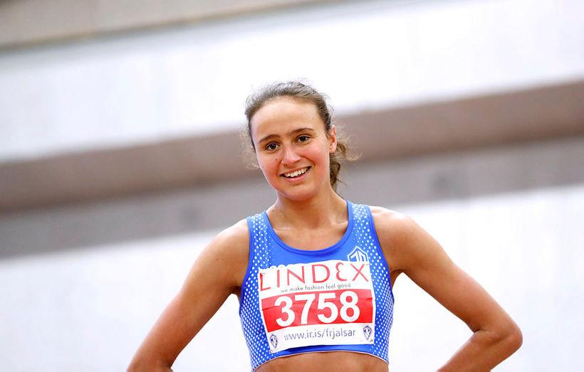 Aníta Hinriksdóttir mun keppa í 800 og 1500 metra hlaupi ...