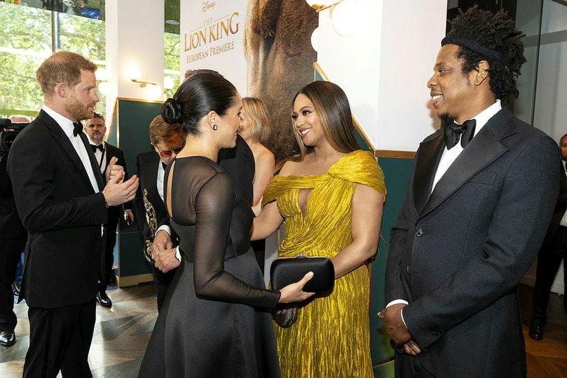 Harry, Meghan, Beyoncé og Jay-Z.