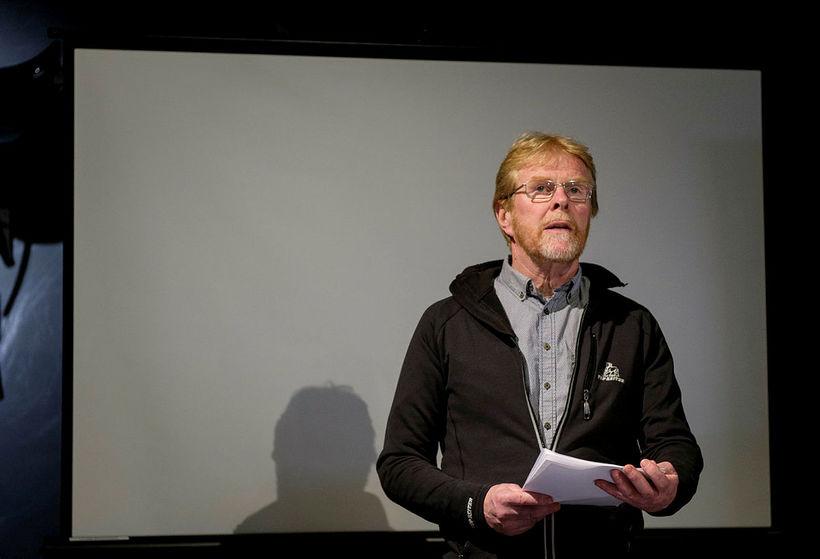 Sigurbjörn Bárðarson landsliðseinvaldur.
