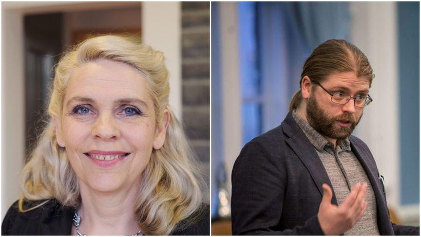 Helgi Hrafn Gunnarsson, þingmaður Pírata, greiddi atkvæði gegn setu Birgittu ...