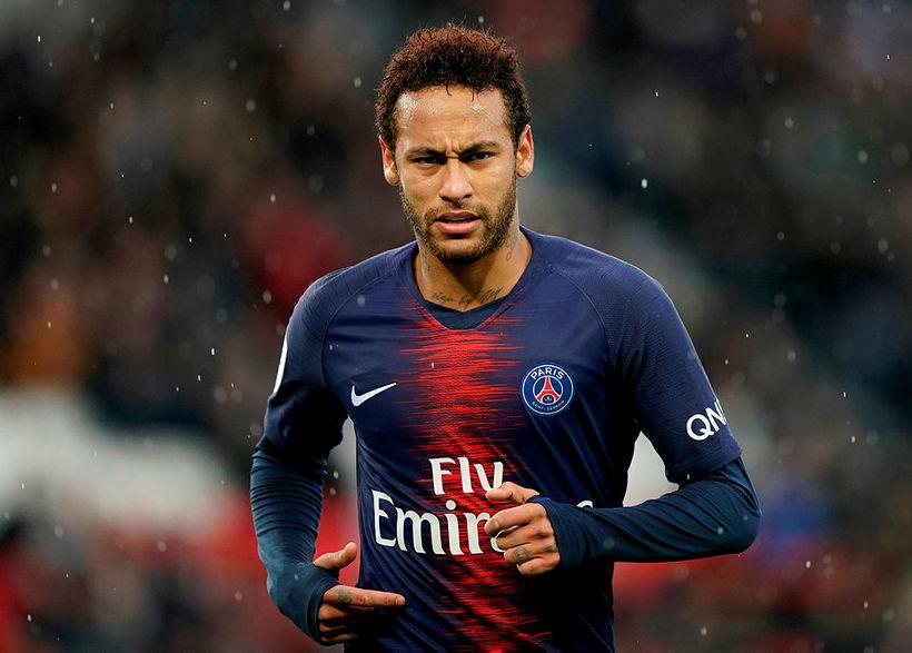 Neymar óskaði eftir sölu frá PSG í síðustu viku.