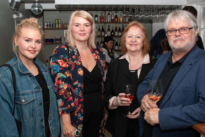 Hildur Ingadóttir, Birna Ingadóttir, Helga Jónsdóttir og Snorri Stefánsson.