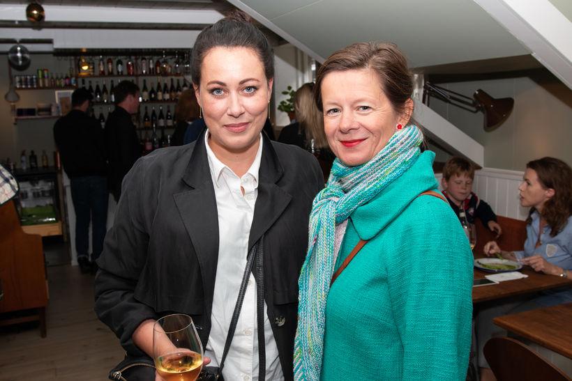 Kristín Dagmar og Kristín Rannveig.
