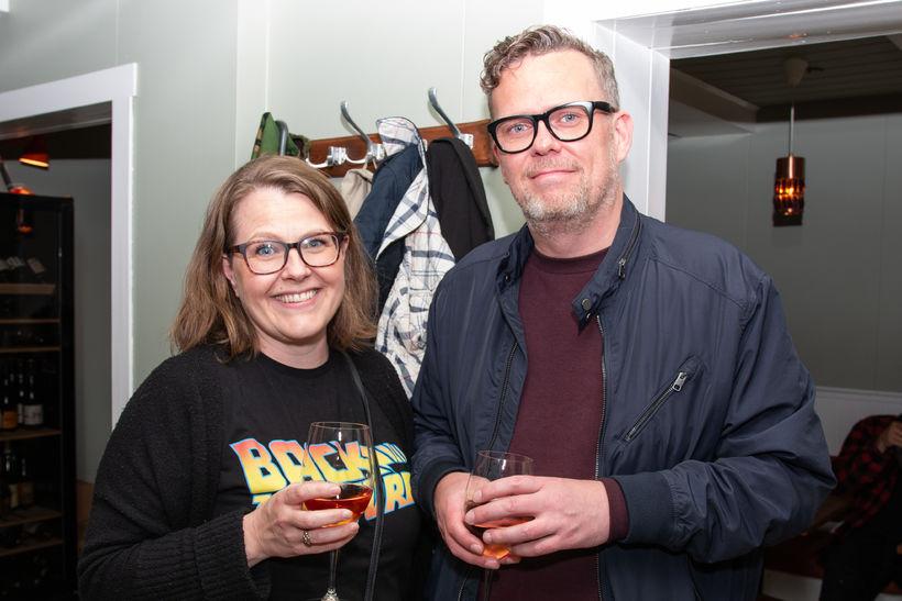 Dagbjörg Jónasdóttir og Birgir Þór Birgisson.
