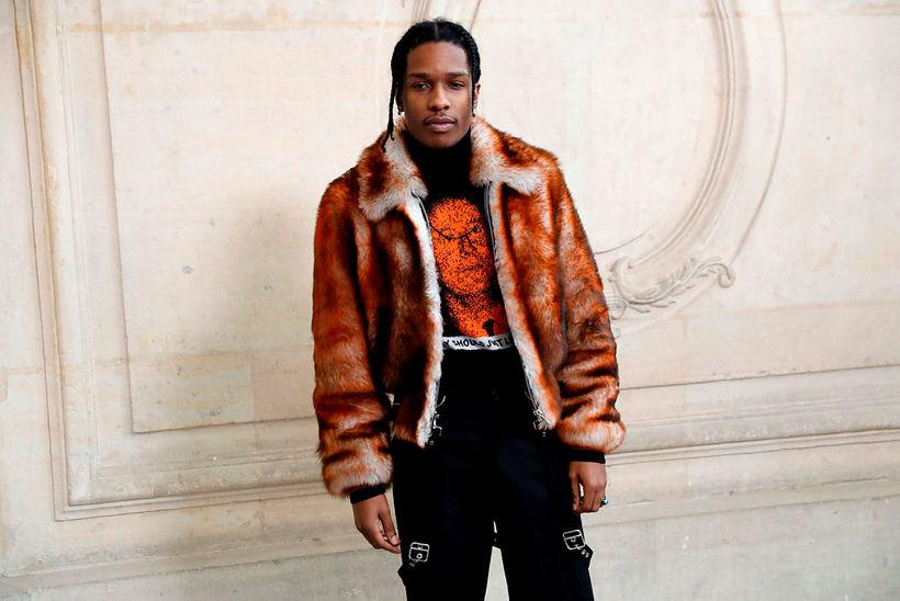 A$AP Rocky er í gæsluvarðhaldi í Svíþjóð og bíður örlaga ...