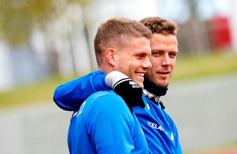 Björn Bergmann Sigurðarson og Ragnar Sigurðsson leika með Rostov.