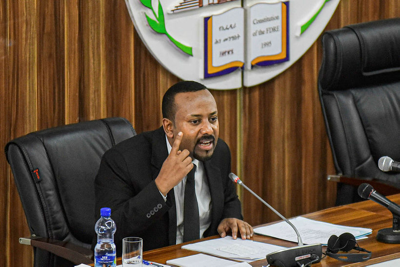 Abiy Ahmed, prime minister of the Federal Democratic Republic of …