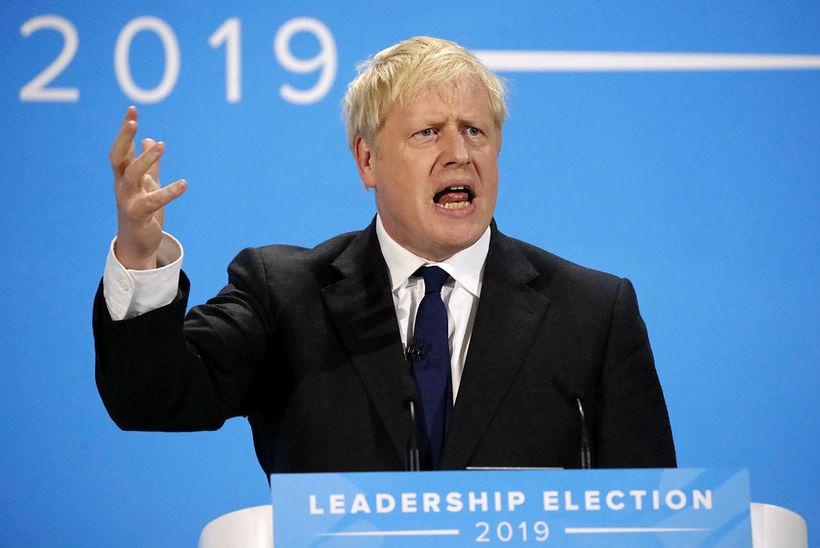 Boris Johnson, fyrrverandi utanríkisráðherra Bretlands, verður líklega næsti forsætisráðherra landsins.