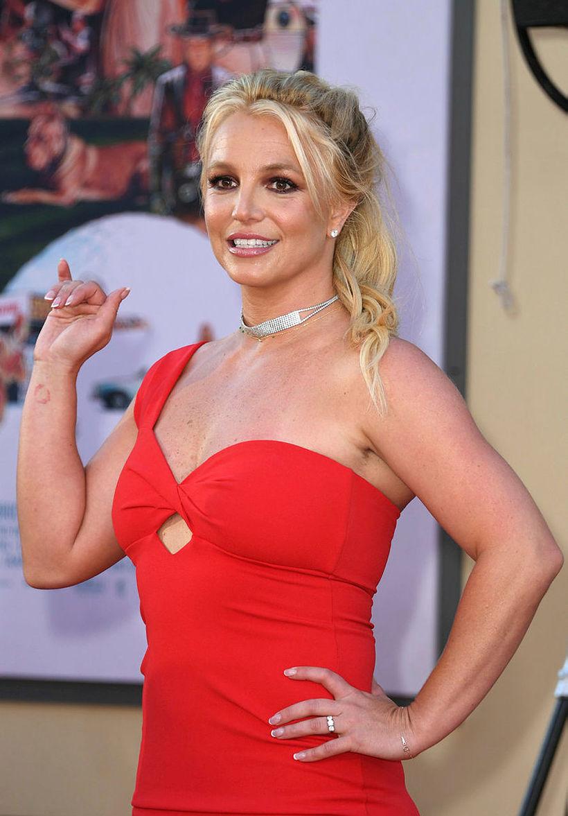 Hringur Britney Spears vakti athygli.