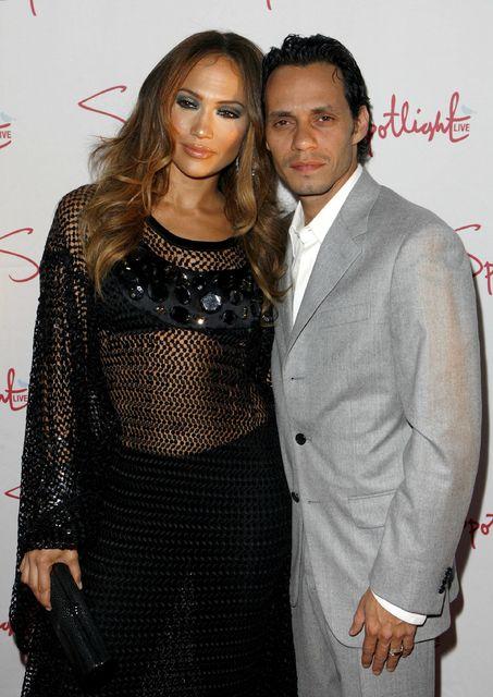 Jennifer Lopez ásamt þáverandi eiginmanni sínum, Marc Anthony, árið 2007.