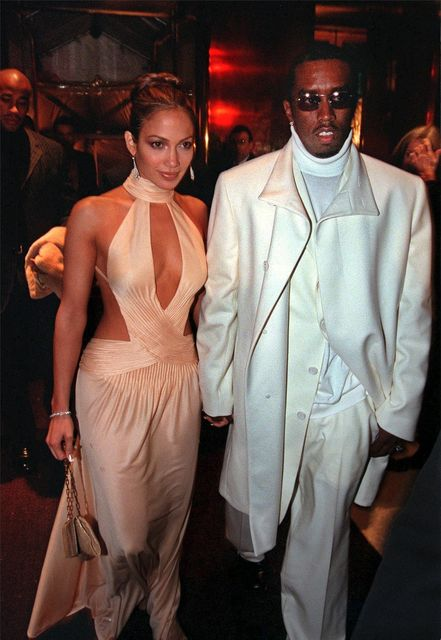 Jennifer Lopez og Sean Combs árið 1999.