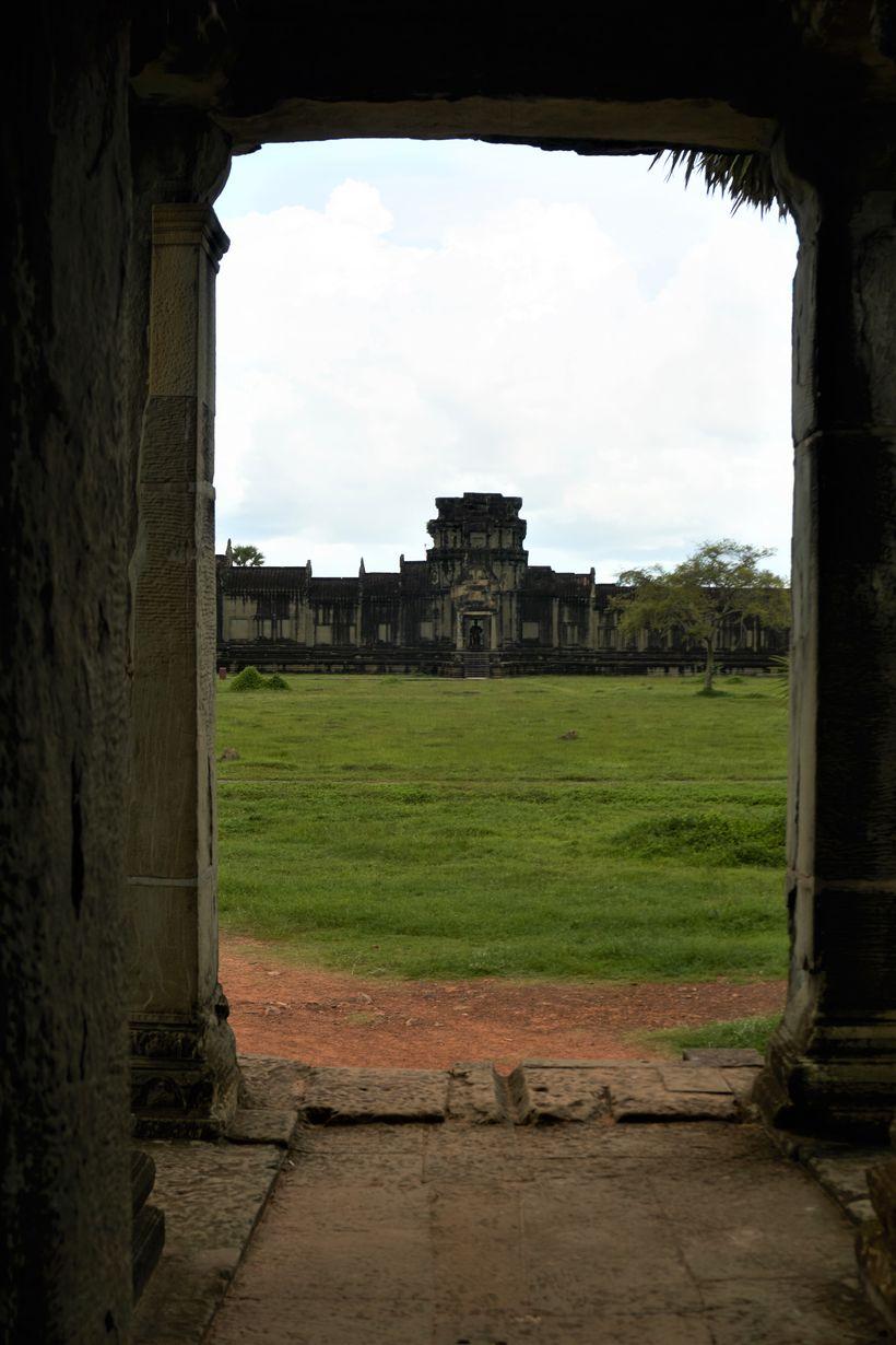Angkor Wat-svæðið er risavaxið.