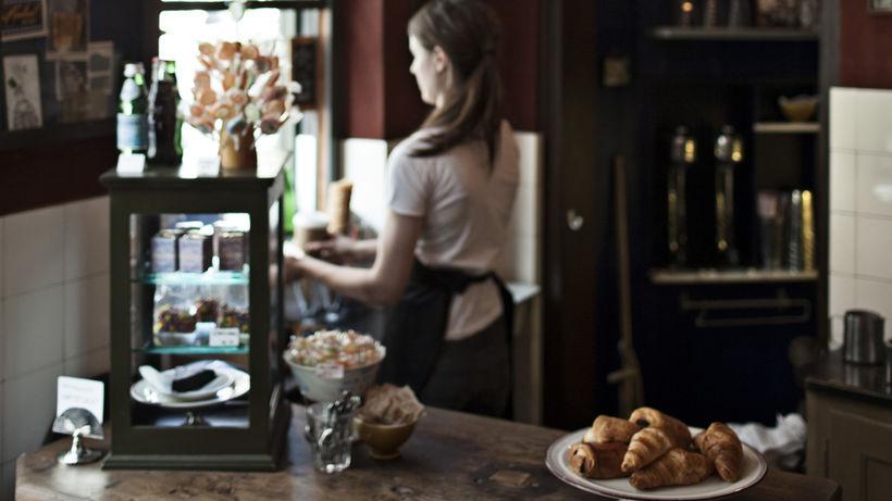Heillandi kaffihúsið Central Hotel & Café.