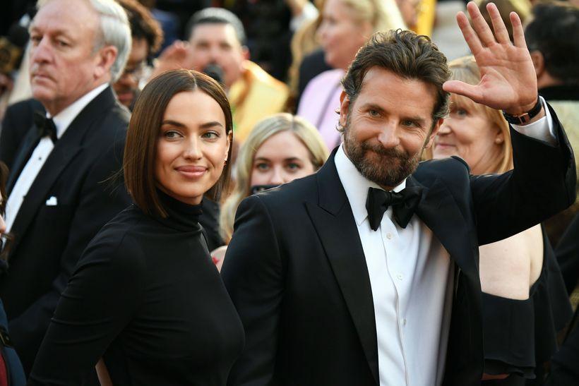 Irina Shay og Bradley Cooper á Óskarnum árið 2019.