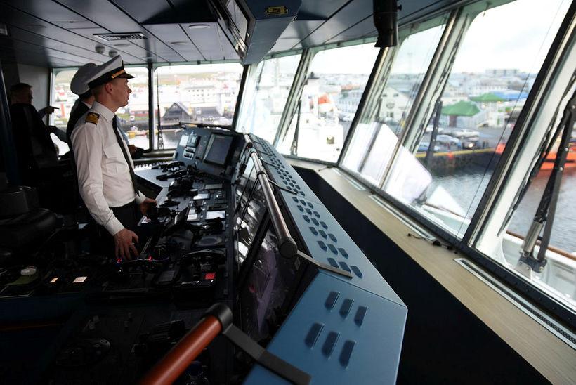 Captain Sigmar Logi Hinriksson.