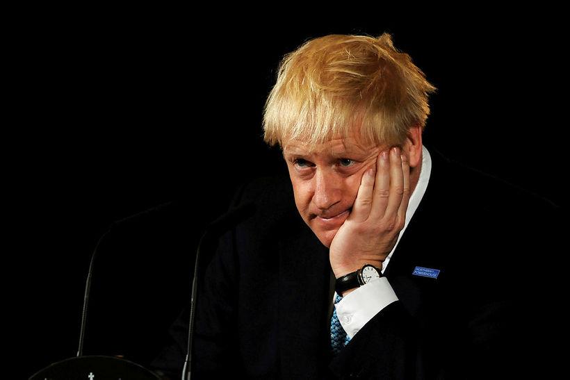 Boris Johnson forsætisráðherra.