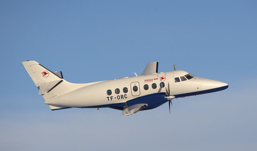 Eagle Air aircraft.