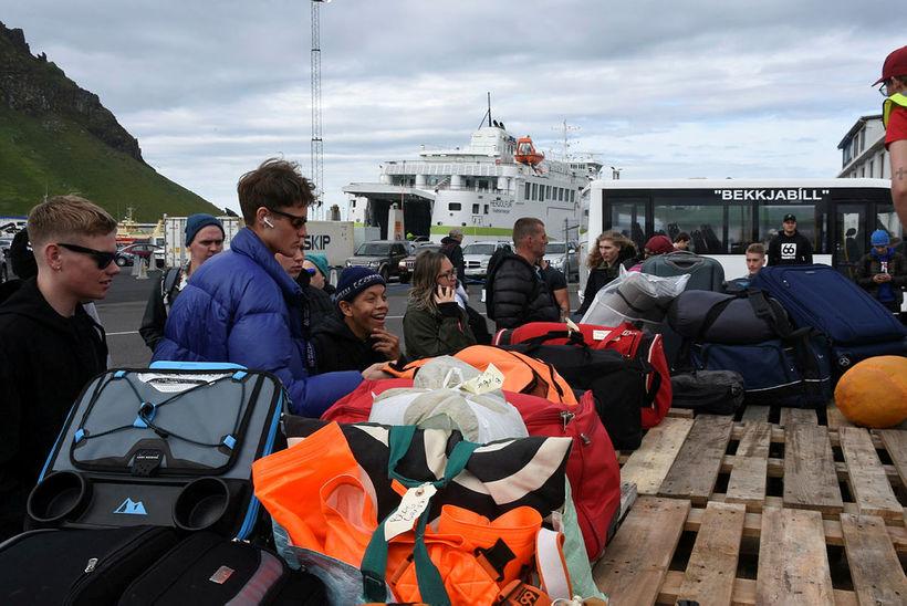 Just arrived in Vestmannaeyjar yesterday.