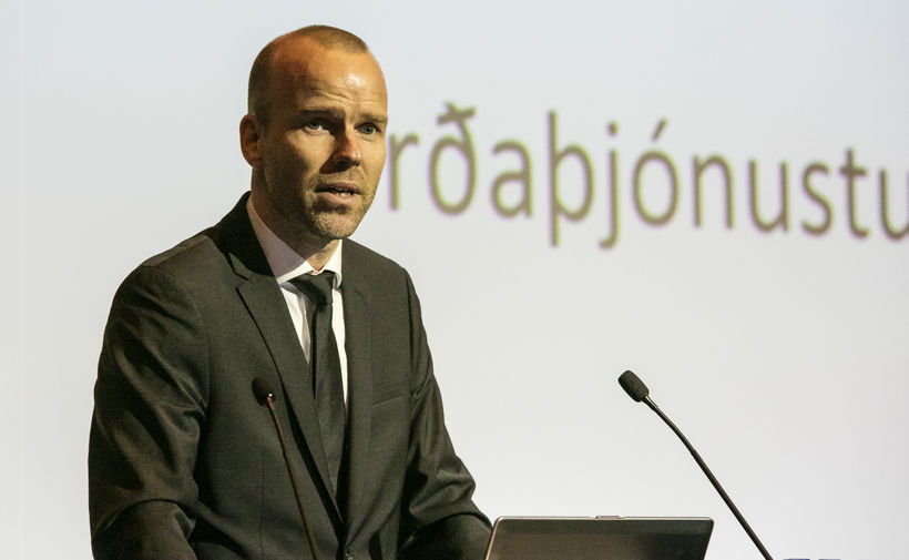 Árni Gunnarsson, framkvæmdastjóri Air Iceland Connect.