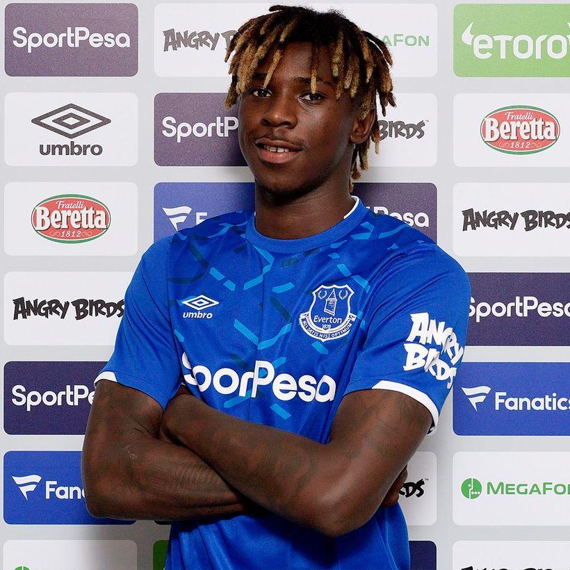 Moise Kean er spennandi viðbót fyrir Everton.