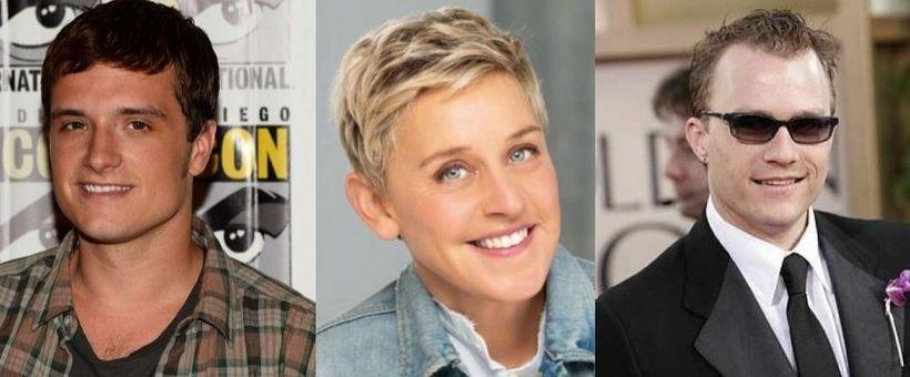 Josh Hutcherson, Ellen DeGeneres og Heath Ledger eiga öll það ...