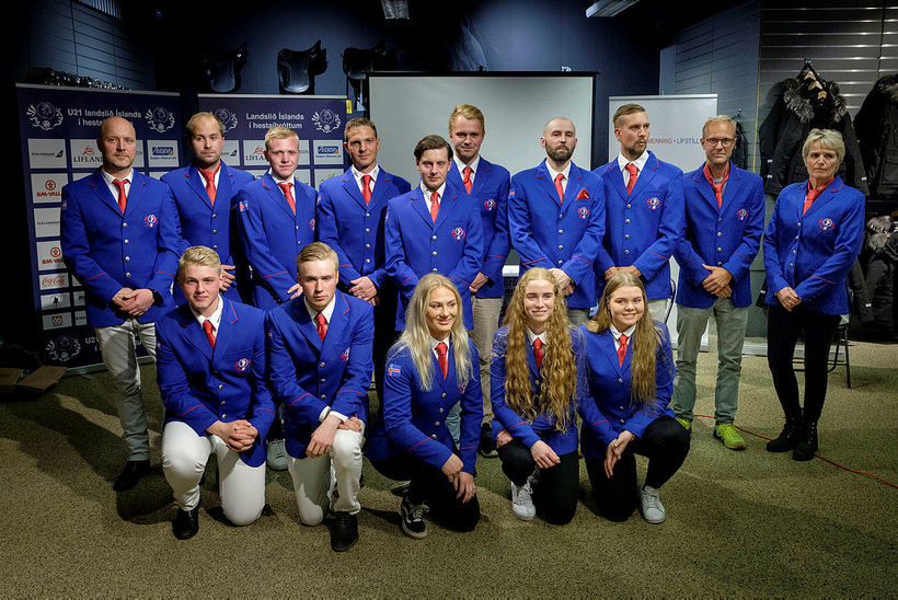 The Icelandic national team.
