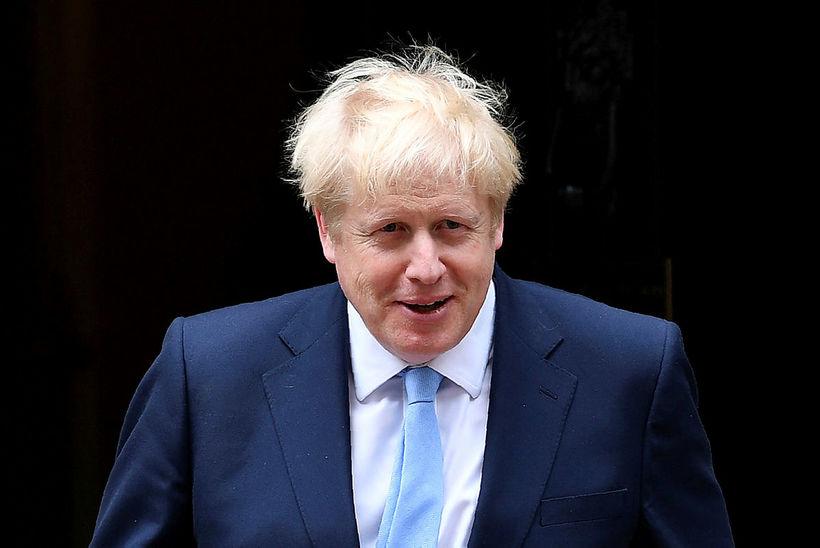 Boris Johnson, forsætisráðherra Bretlands, virðist hafa meirihluta bresks almennings á ...