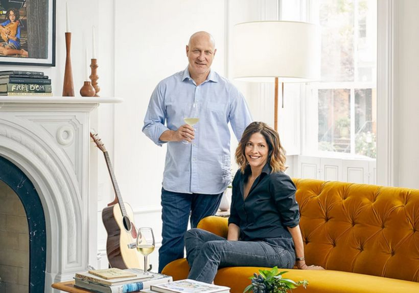 Tom Colicchio og Lori Silverbush.